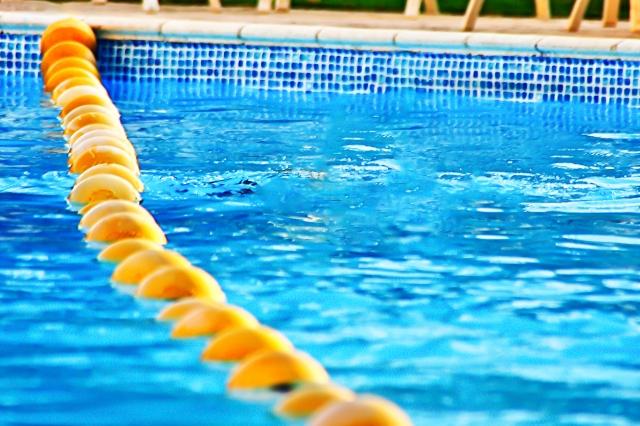 プールで運動をすると